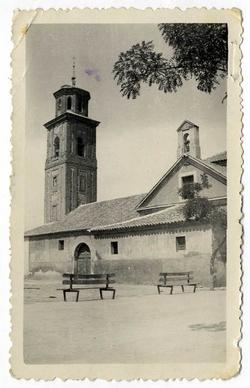 La Pueblanueva. Iglesia de la Encarnación. 1960. (P-421)