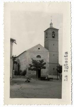 Numancia de la Sagra. Iglesia de la Asunción. 1959 (P-612)
