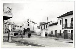 Quintanar de la Orden. Plaza de San Sabastián. 1970 (P-907)