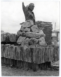 Añover de Tajo. Monumento Casimiro Gómez. 1973 (P-1382)