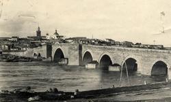 El Puente del Arzobispo. Vista parcial. 1960 (P-241)