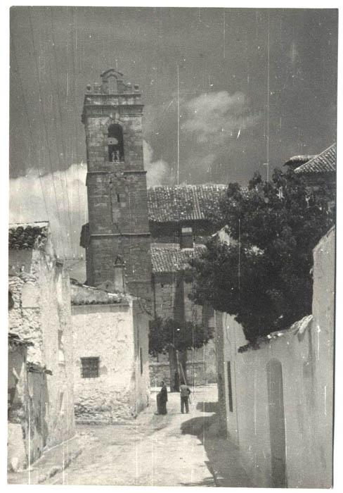 Santa Cruz de la Zarza. Iglesia de San Miguel. 1960 (P-811)