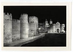 Toledo. Muralla y puerta de Bisagra. 1962 (P-1154)