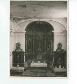 Ugena. Retablo de la iglesia. Hacia 1941 (P-1424)