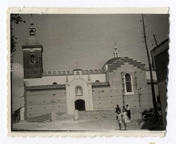 Valmojado. Iglesia de Santo Domingo de Guzmán. 1960 (P-1448)