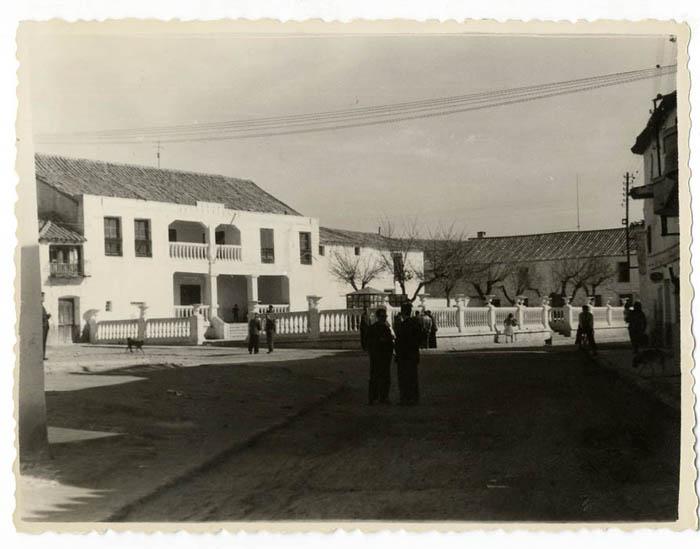 Villaluenga de la Sagra. Casa Ayuntamiento. 1960 (P-1481)