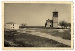Caudilla. Iglesia de Santa María de los Reyes. 1958 (P-831)