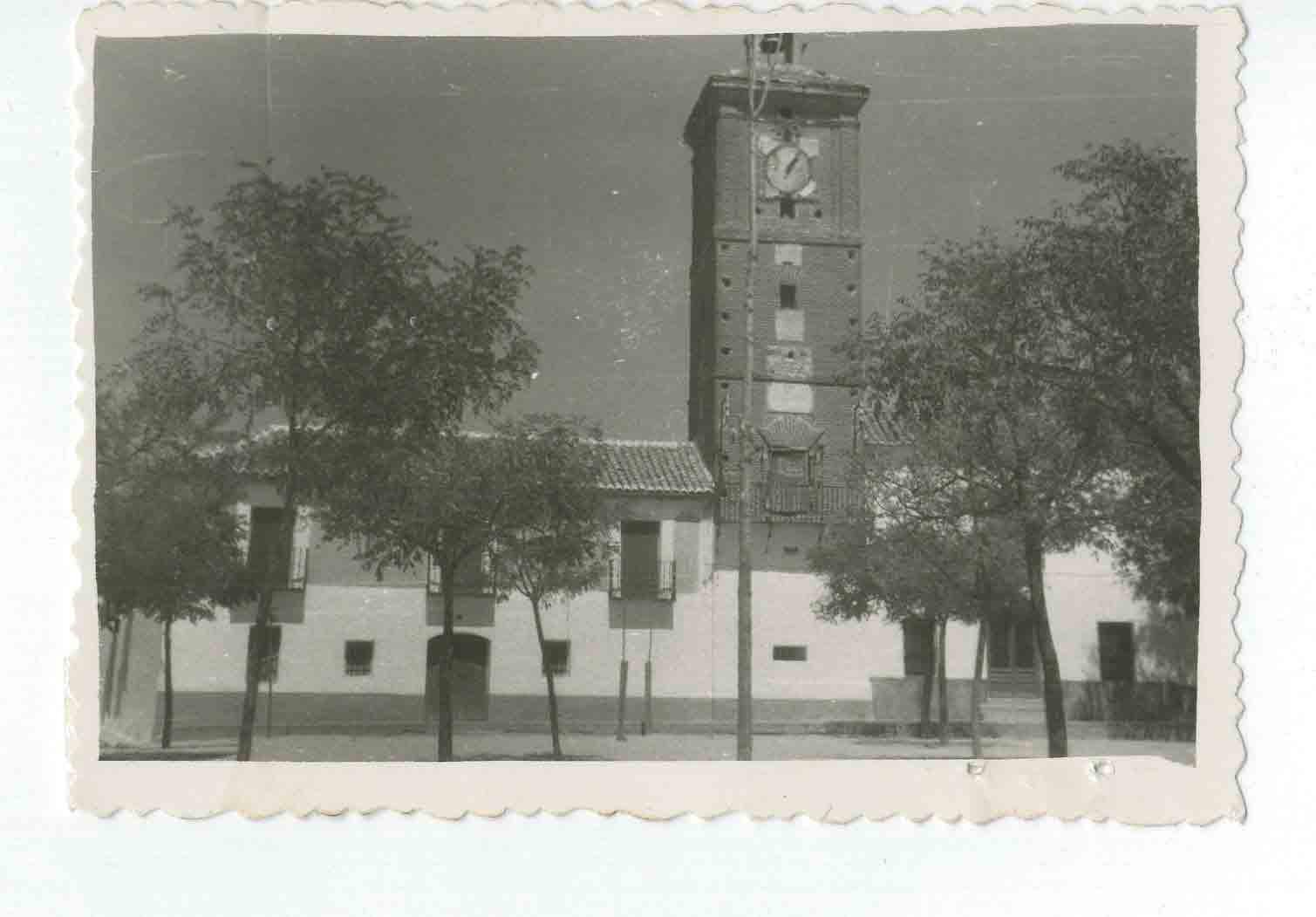 Val de Santo Domingo. Casa Ayuntamiento. 1960 (P-1453)
