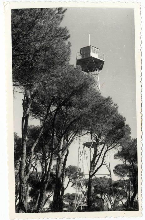 Almorox. Torre de vigilancia del pinar. 1967 (P-26)