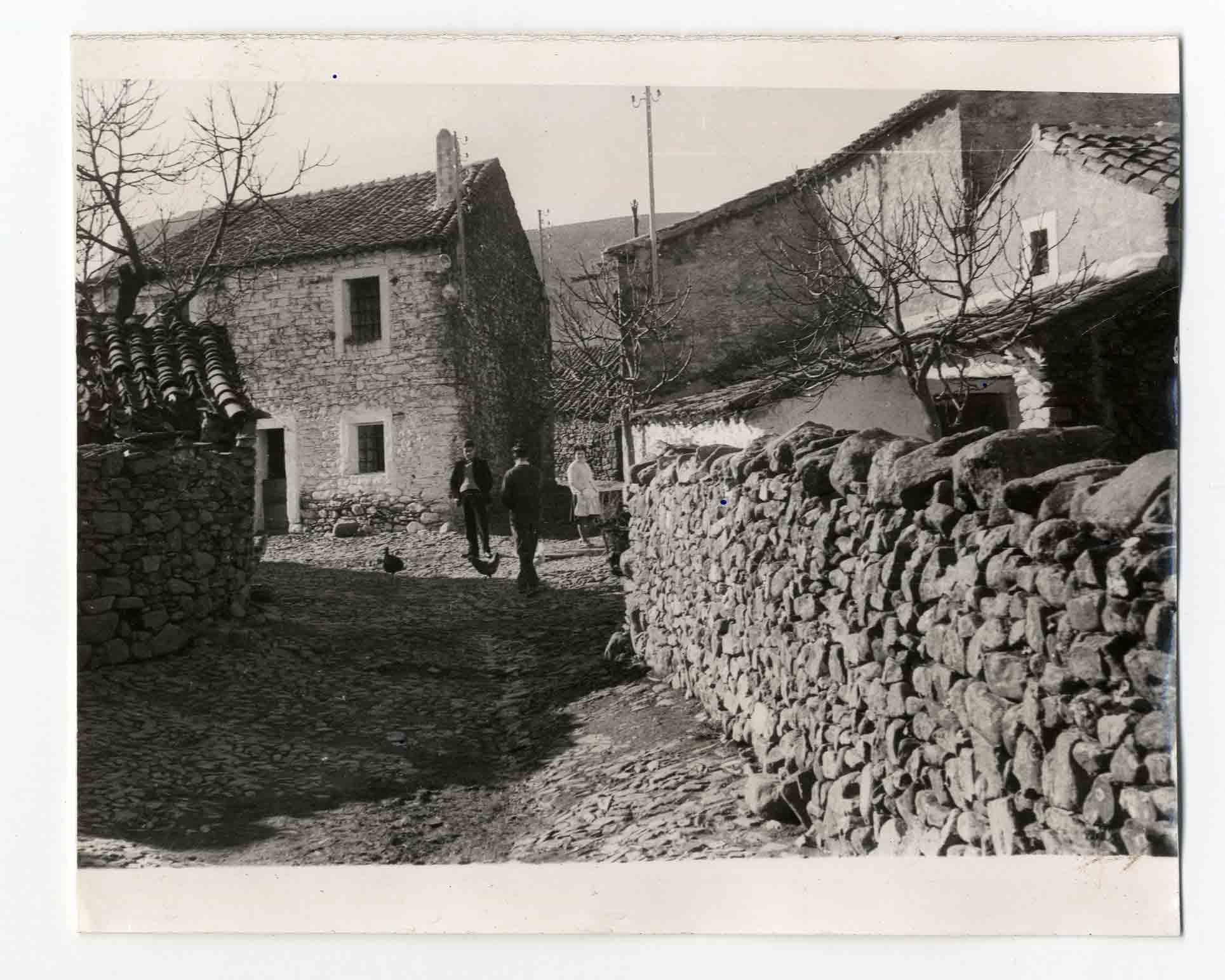 Piedraescrita. Robledo. Calle S. José.1964(P-1328)