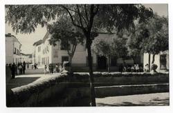 Villanueva de Alcardete. Calle Miguel Morlan. 1960 (P-1483)