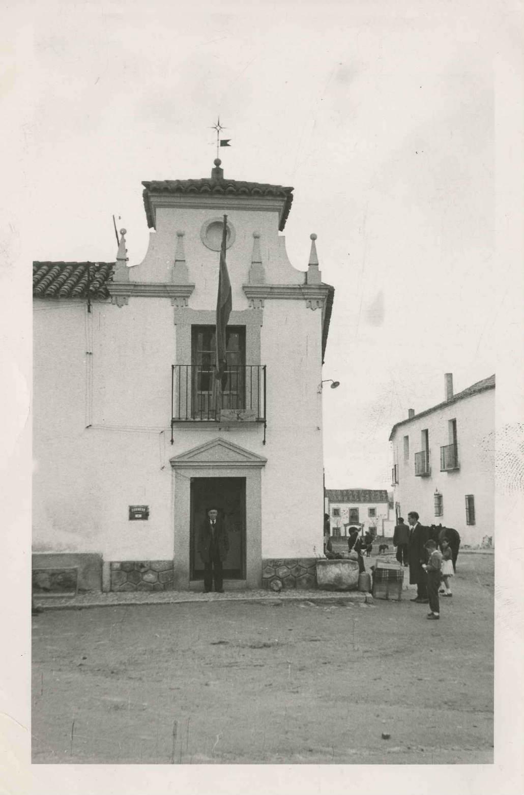 Burguillos de Toledo. Casa Ayuntamiento. 1958 (P-41)