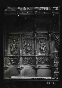 E5-1 Cartuja de Miraflores. Detalle del Coro de los Hermanos