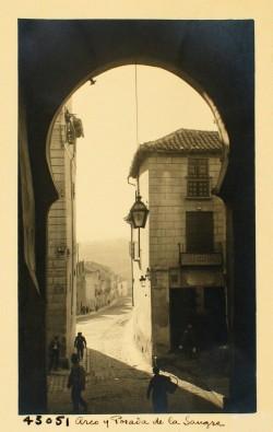 Toledo. Posada de la Sangre, 1929. Fondo Loty