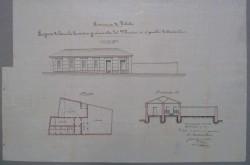 Arcicóllar. Plano edificio escuelas públicas, 1907