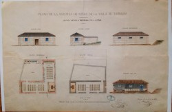 Torrijos. Plano ampliación escuelas públicas, 1878