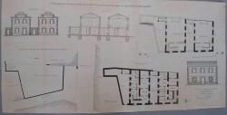 Villasequilla. Plano edificio escuelas públicas, 1881