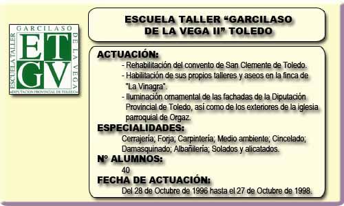 GARCILASO DE LA VEGA II (TOLEDO)