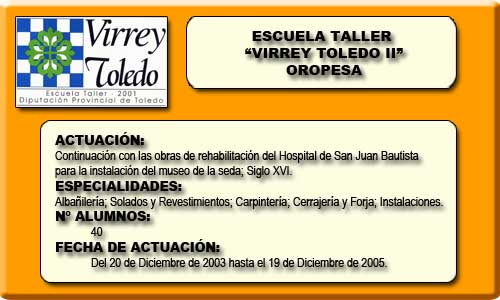 VIRREY TOLEDO II (OROPESA)