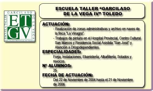GARCILASO DE LA VEGA IV (TOLEDO)