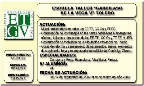 GARCILASO DE LA VEGA V (TOLEDO)