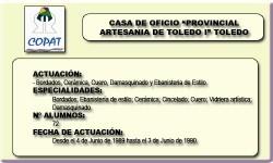 PROVINCIAL ARTESANIA TOLEDO I (TOLEDO)