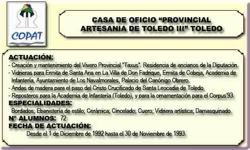 PROVINCIAL ARTESANIA TOLEDO III (TOLEDO)