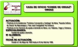 CONDE DE ORGAZ (ORGAZ)