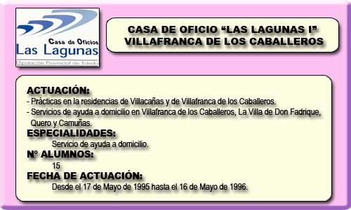 LAS LAGUNAS I (VILLAFRANCA DE LOS CABALLEROS)