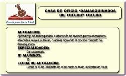 DAMASQUINADOS DE TOLEDO (TOLEDO)