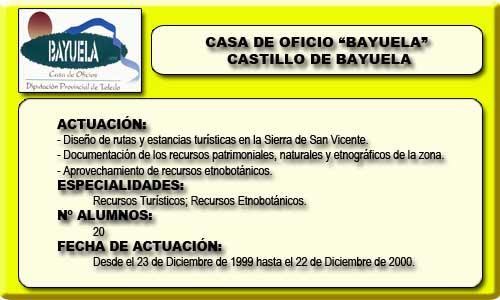 BAYUELA (CASTILLO DE BAYUELA)
