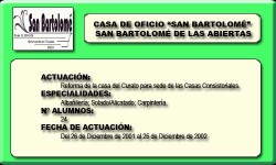SAN BARTOLOMÉ (SAN BARTOLOME DE LAS ABIERTAS)