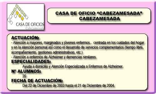 CABEZAMESADA (CABEZAMESADA)