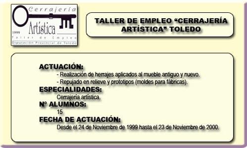 CERRAJERÍA ARTÍSTICA (TOLEDO)