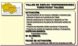 EMPRENDEDORES TURÍSTICOS (TOLEDO)