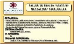SANTA MARÍA MAGDALENA (ESCALONILLA)