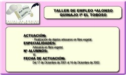 ALONSO QUIJANO I (EL TOBOSO)