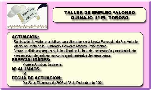 ALONSO QUIJANO II (EL TOBOSO)