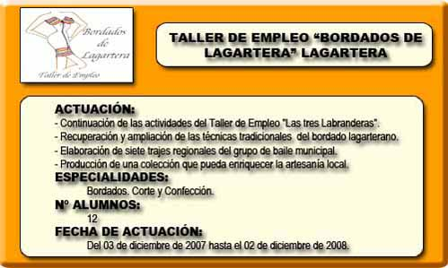 BORDADOS DE LAGARTERA (LAGARTERA)