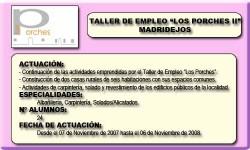 LOS PORCHES II (MADRIDEJOS)