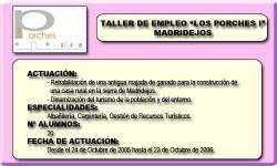 LOS PORCHES I (MADRIDEJOS)