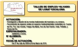 ALVARO DE LUNA (ESCALONA)