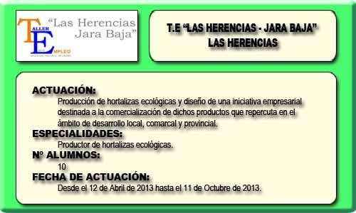 LAS HERENCIAS-JARA BAJA (LAS HERENCIAS)