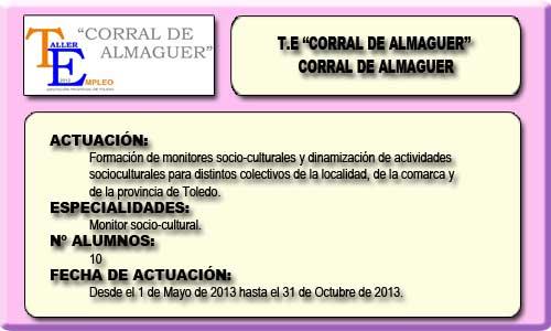 CORRAL DE ALMAGUER (CORRAL DE ALMAGUER)