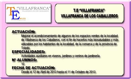 VILLAFRANCA (VILLAFRANCA DE LOS CABALLEROS)