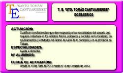 STO. TOMAS CANTUARIENSE (DOSBARRIOS)