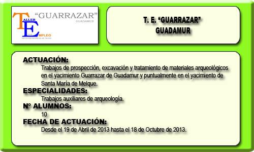 GUARRAZAR (GUADAMUR)