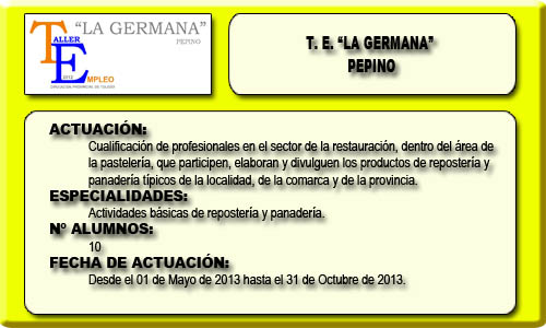 LA GERMANA (PEPINO)