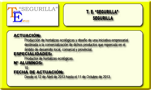SEGURILLA (SEGRILLA)