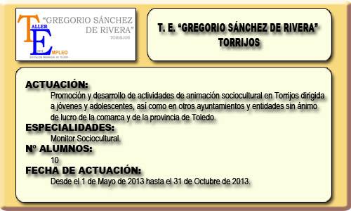 GREGORIO SANCHEZ DE RIVERA (TORRIJOS)